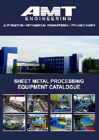 Sheet metal processing equipment catalogue